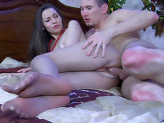 NylonFeetVideos Video: Crystal and Rolf