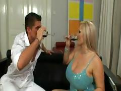 Titty Fuck, Big Tits, Blonde, Blowjob, Boobs, Fucking