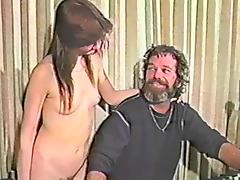 A lesbian with a strapon and her husband fuck this wet pussy