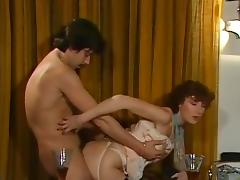 Cathy Ménard, Hélène Shirley, Mascha Mouton in vintage xxx movie