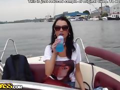Ardent fucking on a boat