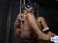 Sexy Frau doppel-anal