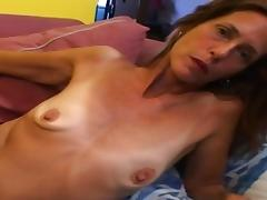 Skinny Matures love big cocks