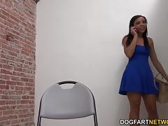 Adrian Maya Having Interracial Sex At A Glory Hole At Dogfart Network