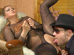 PantyhoseLine Movie: Megan and Douglas