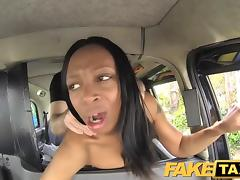 FakeTaxi Naked woman in London taxi