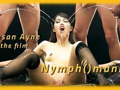 Susan Ayne in HD Pissing Video Nymph()mania