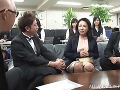 Wild Japanese bimbo loves to fuck in public