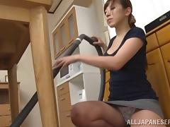 Teen Japanese dude gets a nice tit fucking session