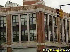 Horny Ghetto Gay Gangsta Hardcore Anal Sex