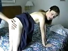 Brunette, Brunette, Hairy, Nipples, Small Tits