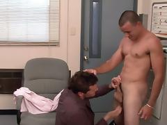 Nikko and Parker London in Men Hard at Work