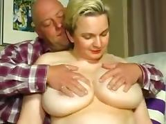 Old, BBW, Couple, German, Mature, Old