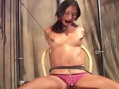 Bound, BDSM, Bound, Nipples, Slut, Small Tits