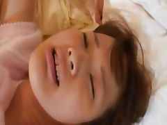 beautiful asian toying and fisting