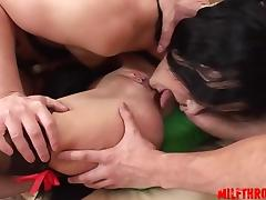 Hot amateur anal orgasm