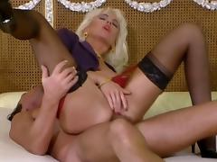 Double, Anal, Assfucking, Double, Vintage, Double Penetration