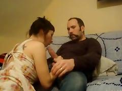 MOUSTACHE MAN BIG COCK FUCK YOUNG GF
