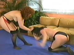 Wrestling, Catfight, Mature, MILF, Small Tits, Wrestling