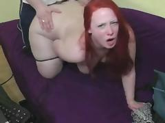 Look into the Camera #60 Busty Redhead BBW with a Big Butt