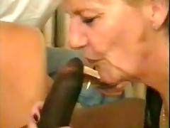GRANNY FUCKS BLACK GUY