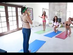 Yoga, College, Classroom, Yoga, Fitness