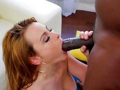 Big titted beauty Corinna Blake huge facialized by BBC