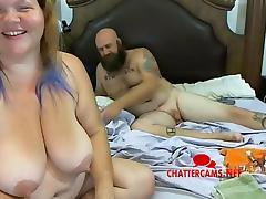 BBW Redhead Big Tits Swinger