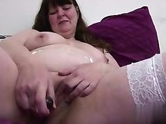 Big chubby mature mom in white stockings - My Affair on BBW-