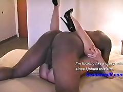 Mature wife deep sex with a BBC