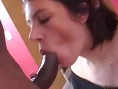 MILF interracial blow and anal.