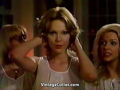 Cute Lesbian Makes Beautiful Video (1970s Vintage)