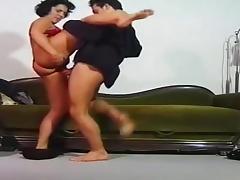 Das Model Und Der Gangster scena