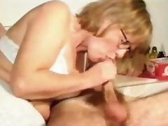 When aGranny Escort Blonde become a Toy for orgies