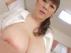 milf Nami Horikawa big tit hand job by eliman