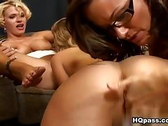Cameltoe, Ass Licking, Asshole, Big Tits, Blonde, Boobs