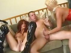 Smoking Hot MILFs Nikki Veil and Vicki Vogue Threesome