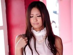 Absolutely beautiful Japanese woman can also fuck like a pro