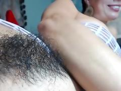 Big Tits, Big Tits, Hairy, Solo, Webcam