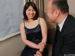 Passionate Asian couple enjoys a sizzling bed sex action