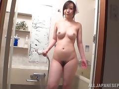 Bath, Asian, Bath, Big Tits, Couple, Cowgirl