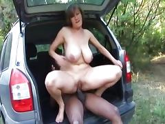 Car, Amateur, Ass, BBW, Big Ass, Big Cock