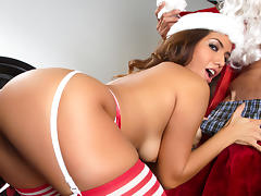 Isabella de Santos & Tommy Gunn  in Dirty Santa - Episode 1 - Fucking Around the Christmas Tree