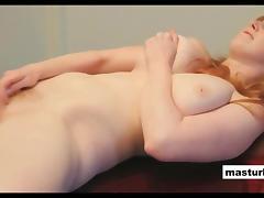 Huge solo orgasm Redhead milf Michelle