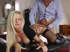 British, Blonde, Boots, British, Couple, Doggystyle