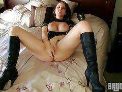 Maledom, Brunette, Cunt, Masturbation, Posing, Pussy