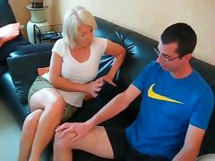 Granny Anal, Anal, Assfucking, Blonde, HD, Mature