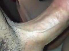 noisy blowjob by blond wife