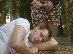 Homeless Fuck in Park