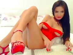 Beautiful European girl live sex on Webcam - European Webcam 2014120301